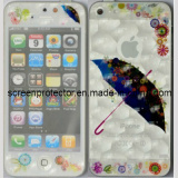 3D Umbrella and Water Cube Design for iPhone 5 Front and Back