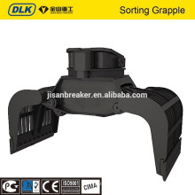 Hydraulic Demolition grapple and Sorting Grapple for 12-17 ton excavator
