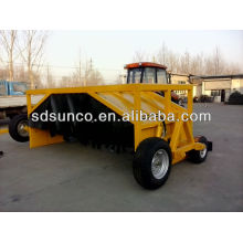 ZFQ towable compost mixer turner, Professional manure compost turner, compost turning machine