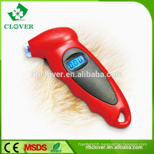 LCD Display Digital Car Tire Pressure Gauge with Blue Backlight and Hook