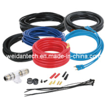 4 Gauge Automotive Audio Amplifier Install Wiring Kit (WD18C-001)