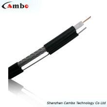 Shenzhen cable de alta calidad rg6 coaxial de la fábrica para el cable de la cámara del cctv
