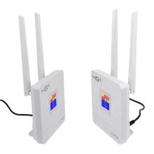 Wholesale Portable Hotspot Lte Wifi Router Wan/Lan Port Dual External Antennas Unlocked Wireless Cpe Router+ Sim Card Slot