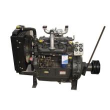 Motor diesel con polea K4100ZP 41kw/55hp