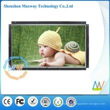 Reproductor multimedia de publicidad de marco abierto de 32 pulgadas, tablero publicitario de video