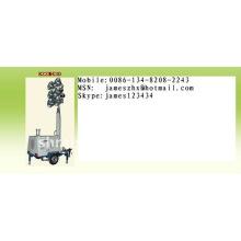 Torre de luz de carretera hidráulica móvil RZZM43D