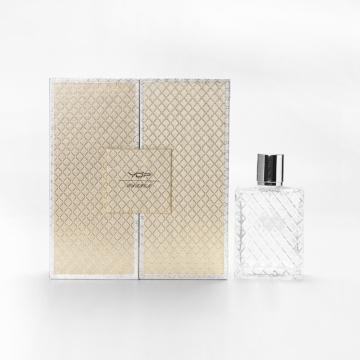 Cajas de embalaje de perfume de oro vacías de 50 ml