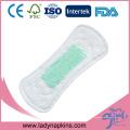 Protège-slips adultes anioniques jetables ultra fins en coton