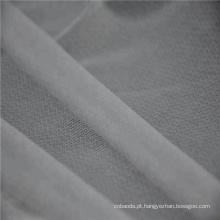 Intercalar fusível elástico tricotado circular de pouco peso