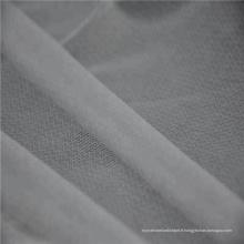 Entoilage fusible élastique tricoté circulaire léger