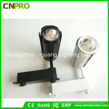 COB 15W LED Track Light for Commercial with Black or White Housing