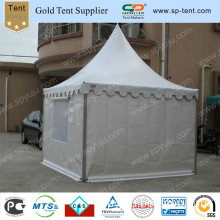 4m Pagoda Tent with Mesh Window and PVC Rolling Door