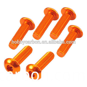Aluminum Button Screw