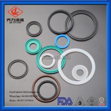 junta sanitária do anel de selo de Viton do silicone de EPDM