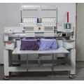 computer operation Double Heads embroidery machine Tubular Embroidery Embroidery Machine