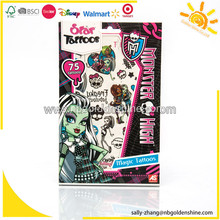 Set de caja de tatuajes Monster High