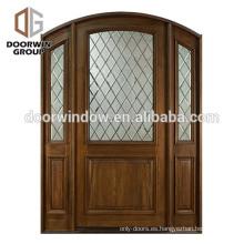 Puerta principal de Inerior del dormitorio del diseño de talla de madera de la puerta principal de 2018