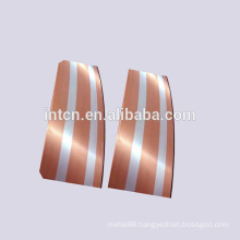 New Contact material Silver copper bimetal strips