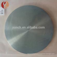Parafuso de cabeça grande personalizado e disco de titânio plano de alta qualidade