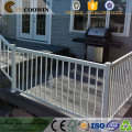 Outdoor decorative patio fire resistant wpc decking