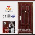 Классический дизайн, усиленный металлической двери для дома