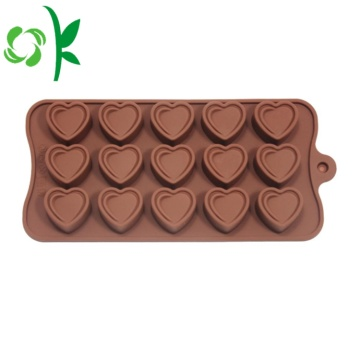 Silikon Heats Shaped Chocolate Acid Grade Makanan Murah