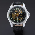 mechanical watch brand custom alloy case with small dial watch