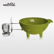 Waltmal Outdoor Hot Tub in Army Green