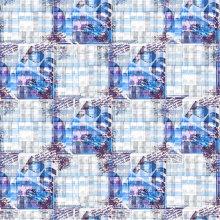 Feuille imprimée de polyester de microfibre de 100% (PPF-049)