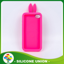 Pink Eco-friendly Silicone Cellphone Case Cover