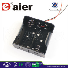 Daier 2 D cell 3v battery holder with spring D battery holder