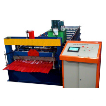Color profile metal roofing galvanized steel sheet ibr roofing panel roll forming machine