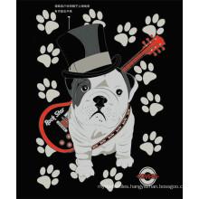 Soft Carton Dog Polyester Blanket King Size for Kids