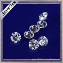 Clear White Color 2.5mm Cubic Zirconia for Fashion Jewelry