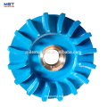 Impeller sand casting process of slurry pump