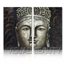 Impressionist India Buddha Painting On Canvas Art