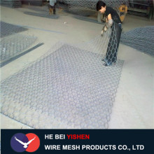 Flood protection galfan welded gabion box factory