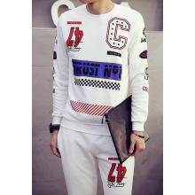 Man Fashion Sweater Track Suit in Sport Wear Clothing