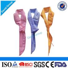 Fornecedor superior certificado atacado personalizado quente inverno cachecol & lenço de algodão mágico