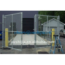 HOT!!!PVC Coated&Electro/Hot-dipped Galvanized Chain Link Fence