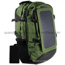 OEM Nylon Waterproof Outdoor Travel Solar USB Bag Backpack