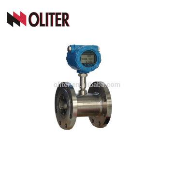stainless steel 304 high accuracy digital fuel diesel fuel flow meter turbine
