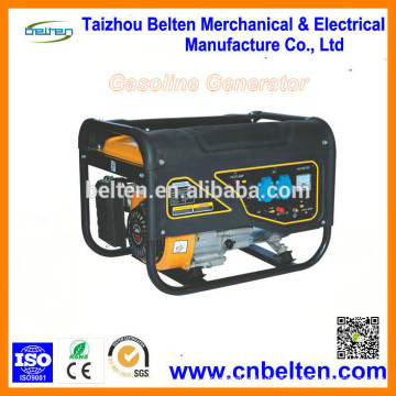 1500W Key Start Copper Wire Portable And Silent Gasoline Generator For Egypt
