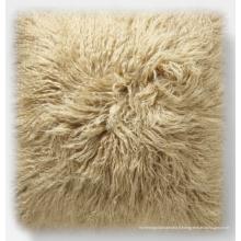 tissu de luxe agneau tibet coloré couverture souple