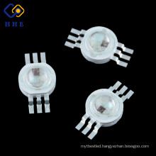 6Pin 3w RGB LED Diode , 3w high power led decorative power RGB led