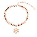 Dubaï New Fashion fantaisie Design femmes or Bracelet, chaîne à la main fille bracelet bijoux Lady Rose or Bracelet