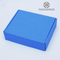 Custom made CMKY e-flute paper shipping box