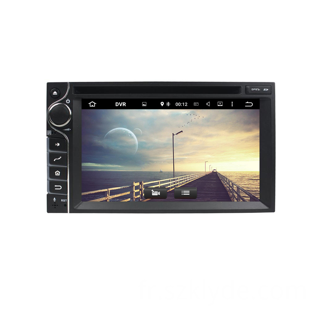 6.2 inch 1 din universal car dvd player