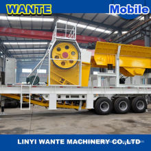 2015 hot sale mining equipment Mobile Impact Crusher Machine
