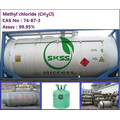 99.9% самое лучшее качество метилхлорид газа
